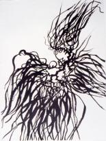 seaweed: ink on canvas