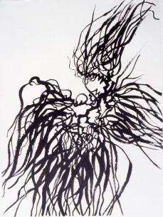 seaweed: ink on paper