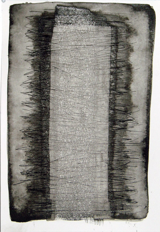 Pain that Binds 4, ink on scribed paper    Belinda Broughton