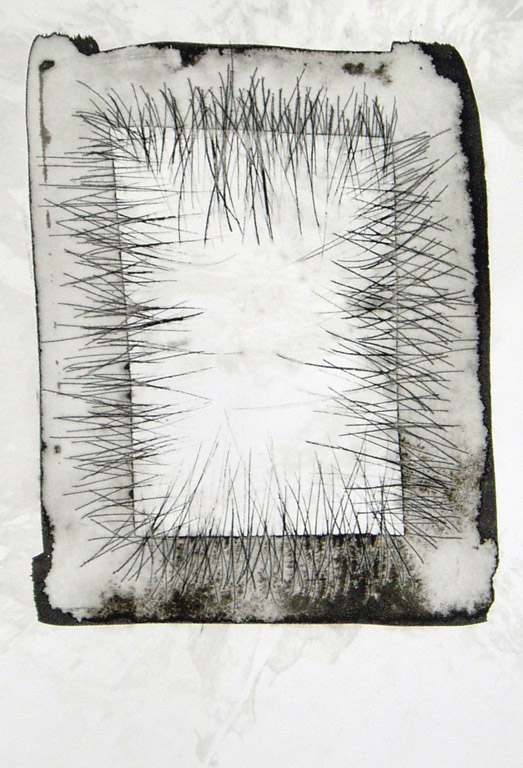 Pain that Binds 3, ink on scribed paper    Belinda Broughton