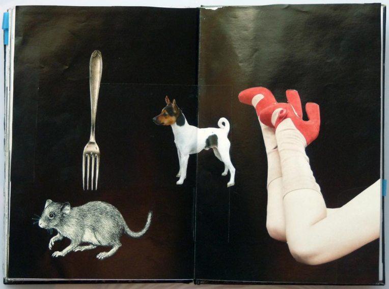 notebook page, © Belinda Broughton