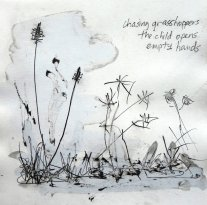 chasing grasshoppers/the child opens/empty hands