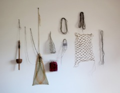threads, installation (mixed media)