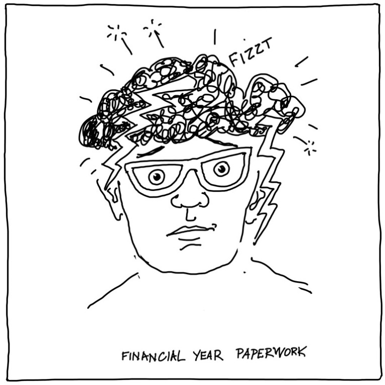 financial-year-paperwork