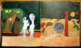 from Miro and Me (altered book)