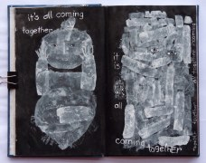 It's All Coming Together (notebook pages) Belinda Broughton